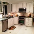 Check out that stove after Design Work Build installed it into the Blausteins' kitchen